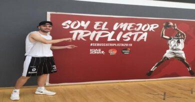 Gorka Seco 10° en el #SeBuscaTriplista de la SuperCopa ACB