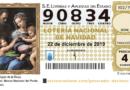 Lotería Navidad C.B. Santutxu 2019