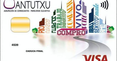 Visa Santutxu = Ayuda al comercio del barrio